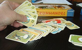 You're Bluffing - player preparing a bluff