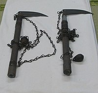 Kusarigama at Iwakuni Castle