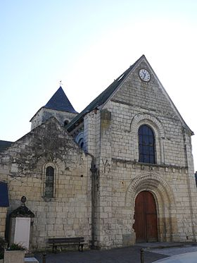 Image illustrative de l'article Église Saint-Gilles de L'Île-Bouchard