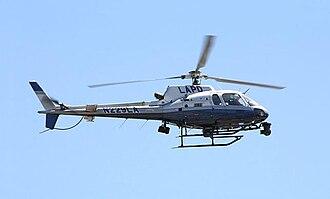 LAPD Air Support Division - Image: LAPD Astro N229LA