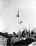 LAUNCH OF BUMPER 7 - Cape Canaveral 29 July 1950.jpg