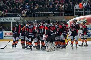 Lausanne HC - Lausanne HC's roster after a game on April 1, 2010