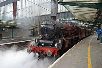 LMS Jubilee Class - Image: LMS 45699 Galatea at Carlisle