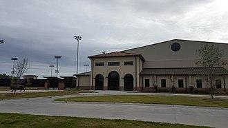 LSU Tennis Complex - Image: LSU Tennis Complex Building