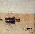 La escuadra en Valparaíso por Somerscales (detalle).jpg
