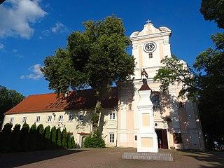 Łabiszyn Place in Kuyavian-Pomeranian Voivodeship, Poland