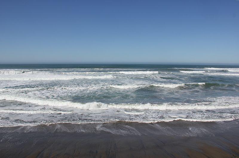 Вечный шум мирового океана. Сводобное изображение Викимедии, автор изображения  Laika ac.