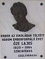 Lajos Őze by László Vígh, 2019 Szentes.jpg