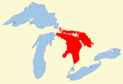 Image illustrative de l'article Lac Huron