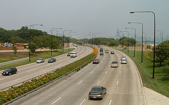Roads and expressways in Chicago - Image: Lake Shore Drive
