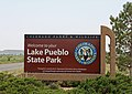 Lake Pueblo State Park sign.JPG