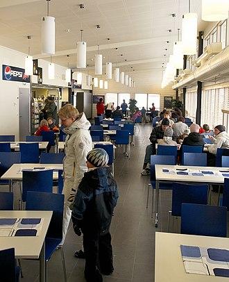 Kuopio Airport - Image: Lake Terminal Interior Kuopio Airport 08