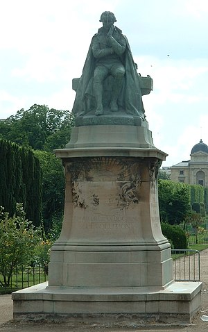 Jean-Baptiste Lamarck - Statue of Lamarck by Léon Fagel in the Jardin des Plantes, Paris.