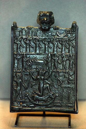 Lamashtu - Image: Lamashtu plaque 9167