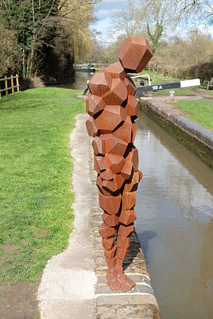 Lowsonford - Land by Antony Gormley