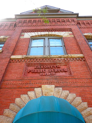 Point Breeze, Philadelphia - David Landreth School