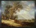 Landskapsmålning, 1600-tal, van Goyen - Hallwylska museet - 21748.tif