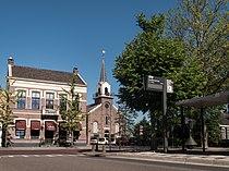 Landsmeer, restaurant de Pepermolen en de Nederlands Hervormde kerk RM23823 foto2 2014-05-25 09.38.jpg