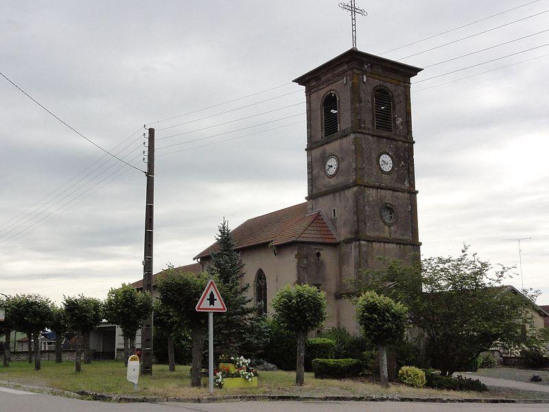 Laneuveville-aux-Bois (M-et-M) église