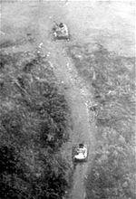 Lang Vei PT-76 destroyed