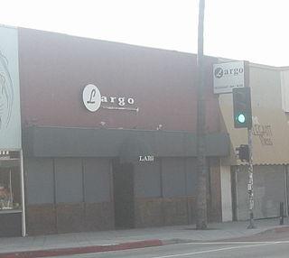 Largo (nightclub) Nightclub in Los Angeles, California