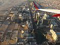 Las Vegas Strip During Takeoff from McCarran International Airport, Las Vegas, Nevada (15704048062).jpg