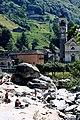 Lavertezzo Church and River.jpg