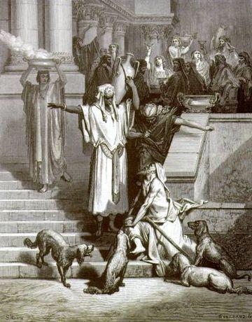 Lazare et L'homme riche, par Gustave Doré.jpg