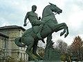 Le Gladiateur à cheval by Isidore Bonheur, Hôpital Sainte-Anne 02.jpg