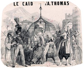 <i>Le caïd</i> Opera by Ambroise Thomas
