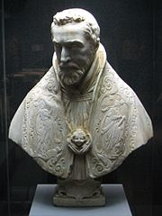 Bust of Cardinal Escoubleau de Sourdis