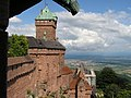 Le chateau coté sud et Selestat - panoramio.jpg