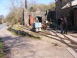 Lea Bailey Light Railway — Clearwell Caves (13056880685).jpg