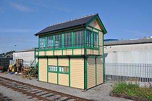 Wensleydale Railway - The ex Great Eastern Railway signal box at Leeming Bar