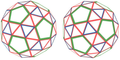 Left and Right handed Snub Dodecahedron.png