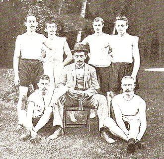 Germany at the 1900 Summer Olympics - Germany athletics team