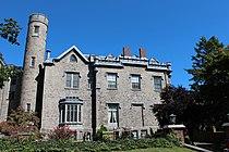 Leland Castle, New Rochelle, NY (Rear View & Courtyard).JPG