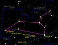 Leo constellation map negative.png