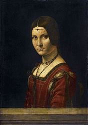 Leonardo da Vinci: Portrait of a Lady from the Court of Milan