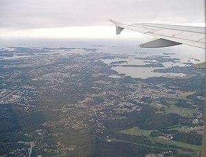 Leppävaara and Lintuvaara from air.jpg