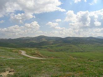 Beni-Chougrane - View from Mohammadia, 2007.