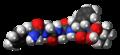 Leu-enkephalin molecule spacefill.png