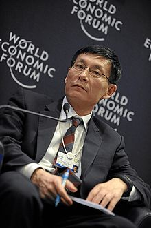 Levin Zhu - World Economic Forum Annual Meeting Davos 2010.jpg