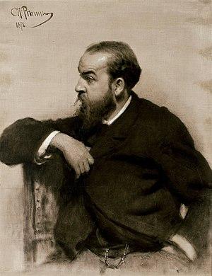 Rafail Levitsky - Portrait by Ilya Repin (1878) Finnish National Gallery, Ateneum Art Gallery, Helsinki, Finland