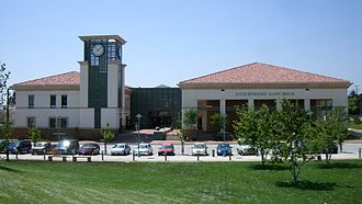 Fontana, California - The Lewis Library and Technology Center