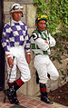 "Lexington Kentucky - Keeneland Jockeys ""Edgar Prado and Jorge Chavez"" (2144393739) (2).jpg"