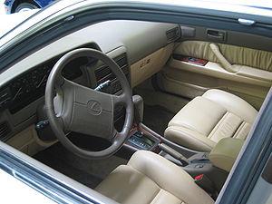 Lexus ES - Interior of Lexus ES 250 (VZV21)