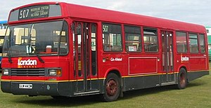 East Lancs Greenway - London General Greenway in two door Red Arrow layout