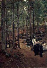 Memorial Service for Kaiser Friedrich at Kösen