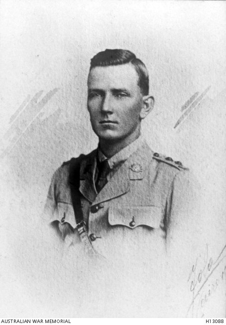 Lieutenant S. Muir who was killed in action at Tel el Khuweilfe - H13088